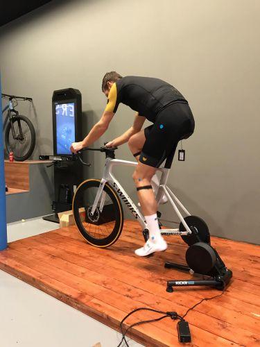 bike fitting retul tower