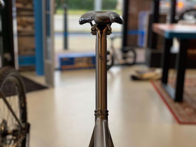 titanium fiets