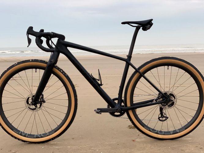 wrap my bike fiets strand